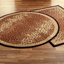 Brown Bathroom Rug by Leopard African Area Rugs