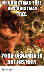 oh tree ohchristmas tree your ornaments are history