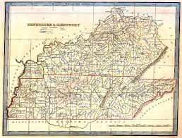 Tennessee Highway Map by Kentucky Digital Map Library United States Digital Map Library