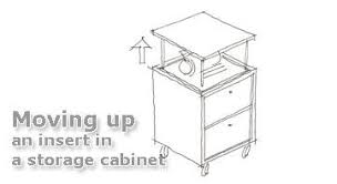 Kitchen Cabinet Lift Electric Lift Systems In Kitchen And Storage Venset