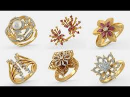 big gold rings images Broad ring designs beautiful big finger rings for women jpg
