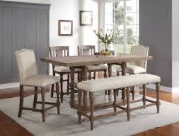 xcalibur upholstered counter bench dxt145524 dining chairs
