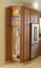 stylish broom storage cabinet with get your broom closet just