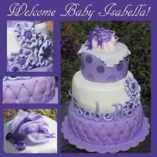 lavender baby shower cake cakecentral com