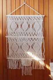 142 best macramake images on pinterest macrame plant hangers magical thinking tiva macrame wall hanging