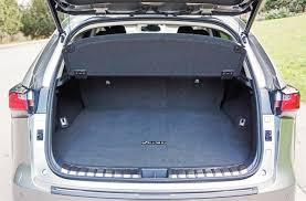 lexus nx interior trunk 2017 lexus nx 300h executive road test carcostcanada