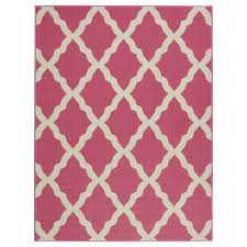 Pink And White Area Rug by Hot Pink Area Rugs Roselawnlutheran