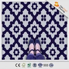 black and white vinyl floor eco pvc material 100