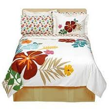 make your bedroom a paradise with tropical bedding