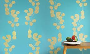 jocelyn warner u2014 wallpaper leaf metallic