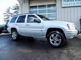 cherokee jeep 2003 2003 jeep grand cherokee overland shoreline auto sales