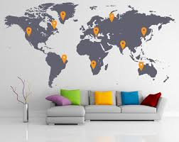 countries visited map your own travel map los fizz