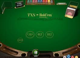 Texas Holdem Table by Texas Holdem Netent Casinos
