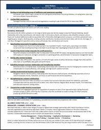Resume Sample General Manager by General Resume Samples
