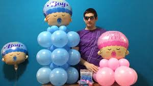 baby shower balloon decor dollar store youtube