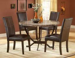 Round Dining Table And Chairs For  Dining Rooms - Dining room chairs set of 4