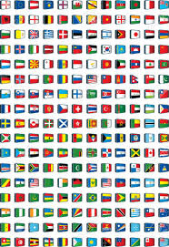 Flags Of The Wrld World Flags Royalty Free Cliparts Vectors And Stock Illustration
