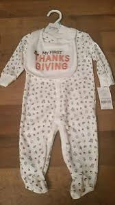 carters thanksgiving nwt s thanksgiving 6 month unisex one ebay