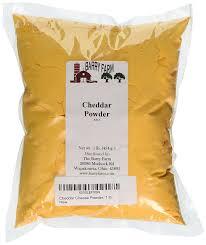 The Powder Room New Farm Cheddar Cheese Powder 1 Lb By Barry Farm Amazon Com Grocery