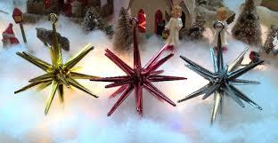 plastic sputnik ufo tree ornaments
