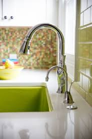 Green Kitchen Sink by Should You Replace Your Rental Kitchen Sink Faucet Kitchn
