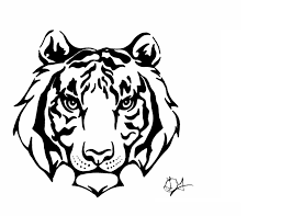 tiger tribal by wolf within on deviantart