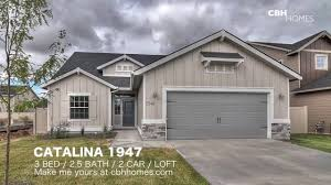 3 Door Garage by Cbh Homes Catalina 1947 3 Bed 2 5 Bath 2 Car Garage Loft