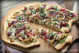 thanksgiving leftovers pizza recipe