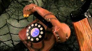 electrified maniac spirit halloween tekky toys animated dead ringer telephone halloween decoration