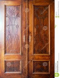 Wooden Closet Door Wooden Closet Doors Stock Photo Image Of Cabinet Material 18922132