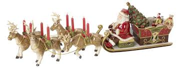 Villeroy And Boch Christmas Decorations 2014 by Villeroy U0026 Boch Christmas Toys Memory Santa U0027s Sleigh Ride Amazon