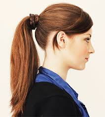 ponytail hair whether you or or curly hair there is