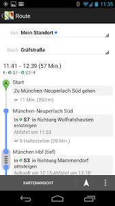 Google Maps Navigation Google Maps Und Navigation Zeigen Nun Auch Bahn Und S Bahn