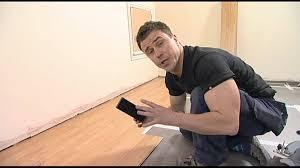 Laminate Flooring Diy Diy How To Lay Laminate Flooring With Craig Phillips Youtube