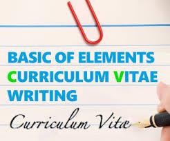 Resume Curriculum Vitae Example by Basic Curriculum Vitae Resume Cv Format