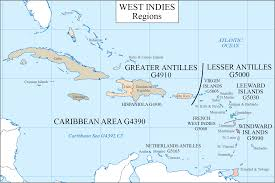 Caribbean Ocean Map by Lc G Schedule Map 13 Caribbean Regions Waml Information Bulletin