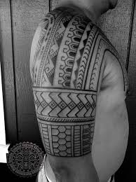 nice filipino sun and polynesian tribal tattoo for men pacific