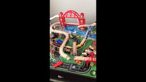 kidkraft metropolis train table review youtube