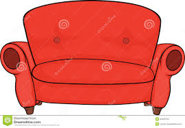 Red Sofa Furniture Red Sofa Stock Photos Image 35356733