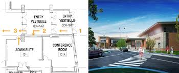 entry vestibule safe school design smma