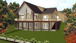 house plans with walkout basement at back craftsman house plans with walkout basement rmrwoods house