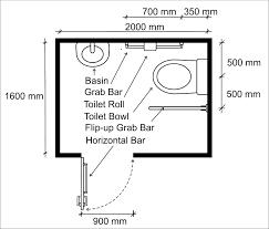 Wheelchair Accessible Bathroom Design Handicap Accessible Bathroom Size Best Bathroom Decoration