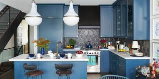 light blue kitchen walls cabinets 40 blue kitchen ideas lovely ways to use blue cabinets and