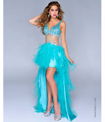 canacci 2014 prom dresses teal satin u0026 tulle illusion high low