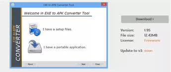 what is apk file format i want to install exe extension files in android mobile is it