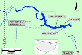 lake sakakawea map rogers archaeology lab environment