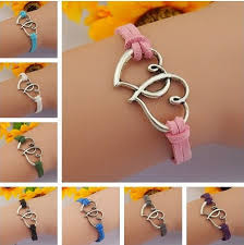 simple jewelry bracelet images Cute heart to heart charm bracelets jewelry couple lovers wrist