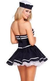 Sailors Halloween Costumes Naughty Sailor Halloween Costume Women 3wishes