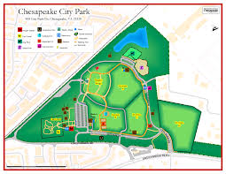 Map Of Virginia Cities City Park Map Jpg
