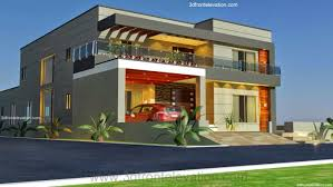 Modern Style House 3d Front Elevation Com 1 Kanal Old Style House Convert In Modern